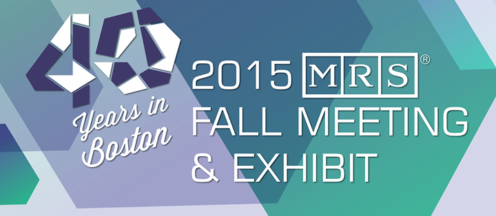 MRS Fall Meeting & Exhibit 2015